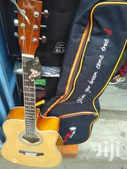 Full Acoustic Box Guitar And Heavy Padded Guitar Bag | Musical Instruments for sale in Nairobi, Nairobi Central