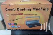 A4 Comb Binder Binding Machine-grey-black-multicolor | Stationery for sale in Nairobi, Nairobi Central