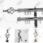 Curtain Rods Adjustable Silver | Home Accessories for sale in Nairobi, Nairobi Central