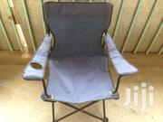 Chair Portable Folding Chair With Arm Rest Cup Holder | Camping Gear for sale in Nairobi, Kahawa West