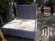 Modern Stylish Quality 5by6 Tufted Bed | Furniture for sale in Nairobi, Ngara