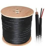 305M RG 59 Two In One Power And Signal CCTV Cable- Black | Cameras, Video Cameras & Accessories for sale in Nairobi, Nairobi Central