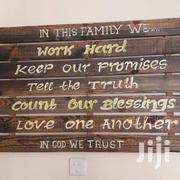 House Decor Antique Wooden Writings | Home Accessories for sale in Nairobi, Mugumo-Ini (Langata)