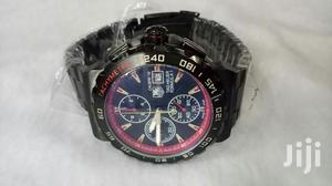 Red Black Tagheure Men's Watch Quality