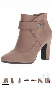 Women'S Tag Team Ankle Boots Colour: Taupe Fabric Suede | Shoes for sale in Nairobi, Kileleshwa