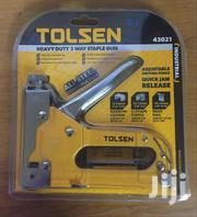 TOLSEN Heavy Duty 3 Way Staple Gun | Manufacturing Materials & Tools for sale in Nairobi, Viwandani (Makadara)