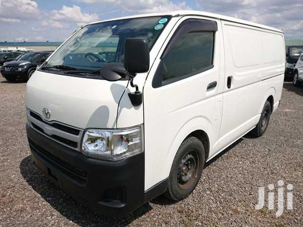 Archive: New Toyota HiAce 2013 White