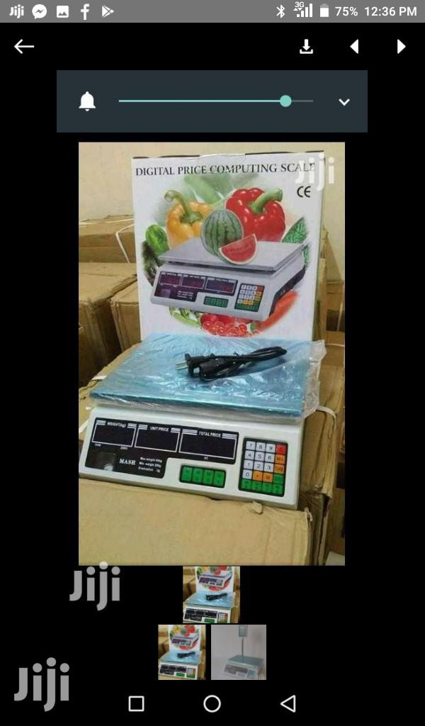 Archive: 30kgs Digital Weighing Scale Machine