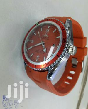 Orange Omega Classy Watch