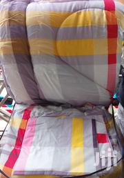 4*6 Cotton Duvets With A Matching Bed Sheet And 2 Pillowcases | Furniture for sale in Nairobi, Eastleigh North