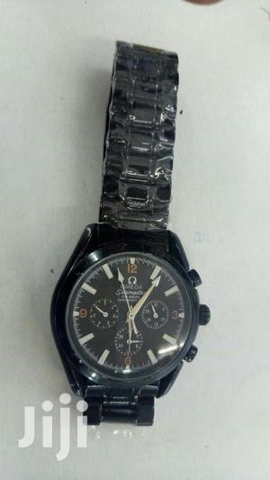Black Omega Automatic Movement