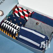 Men's Gift Set Package 3 Pure Cotton Boxers & 3 Pairs Of Happy Socks | Clothing Accessories for sale in Nairobi, Nairobi Central