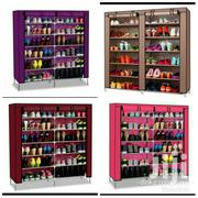 Two Columns Mettalic Frame Shoe Rack | Furniture for sale in Nairobi, Roysambu
