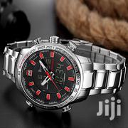 Naviforce Red Stars With A Gift Box | Watches for sale in Nairobi, Nairobi Central