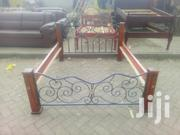 Stylish Modern Quality 5by6 Metal Bed | Furniture for sale in Nairobi, Ngara
