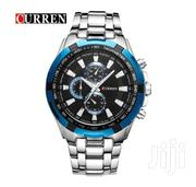 Brand New CURREN Silver Blue Watch | Watches for sale in Nairobi, Kileleshwa