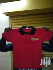 Mixed Red and Black Polo T Shirt | Clothing for sale in Nairobi, Nairobi Central