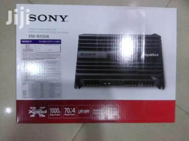 Sony Car Amplifier 1000w Max Power N1004 With 280w Rated Power