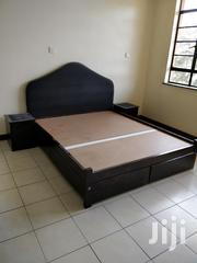 Mahogany Queen Bed With Matteress   Furniture for sale in Nairobi, Parklands/Highridge