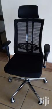 Chair Executive Mesh With Headrest Ksh 14500 Free Delivery | Furniture for sale in Nairobi, Nairobi West