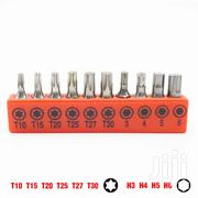 Screwdriver Bit 10pcs Set 1/4 Inch Hex 25mm Long Torx T10-T30 H3-H6. | Electrical Tools for sale in Nairobi, Nairobi Central