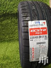 225/45/17 Kumho Tyre's Is Made In Korea | Vehicle Parts & Accessories for sale in Nairobi, Nairobi Central