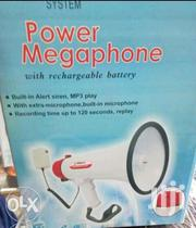 Rechargeable Power Megaphone | Audio & Music Equipment for sale in Nairobi, Nairobi Central