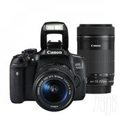 CANON EOS 750D 18-55mm Is Stm Lens KIT 24.2mp DSLR Camera Black   Cameras, Video Cameras & Accessories for sale in Nairobi, Nairobi Central