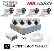 Hikvision 2MP 8 CCTV Cameras With Night Vision Standalone System Kit   Cameras, Video Cameras & Accessories for sale in Nairobi, Nairobi Central