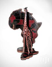Giraffe On African Map | Home Accessories for sale in Mombasa, Changamwe