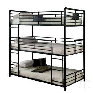Triple Decker Metallic Beds