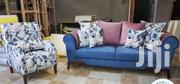 3 Seater and a Wingback Chair | Furniture for sale in Nairobi, Ngara