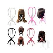 Folding Stable Durable Hair Wig Hat Mannequin Dummy Head Holder Stand | Store Equipment for sale in Nairobi, Embakasi