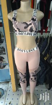 Pink Camouflage Sports Bra And Tights | Clothing for sale in Nairobi, Kasarani