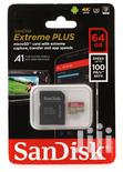 Sandisk Extreme 64GB Memory Card + SD Adapter 100mb/S, Class 10,   Accessories for Mobile Phones & Tablets for sale in Nairobi Central, Nairobi, Kenya