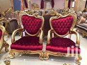 Golden 9, 10 ,11 Seater Antiques With Coffee Table | Furniture for sale in Nairobi, Pumwani