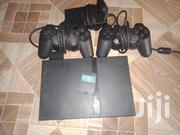 PS2 Chipped With 2 Controllers Adapter TV Cable And Memory Stick   TV & DVD Equipment for sale in Nairobi, Karen