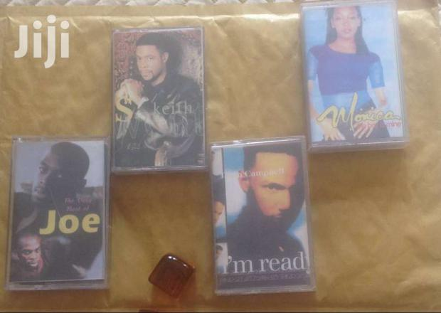 Archive: Audio Cassette Tapes  (Set Of 4)