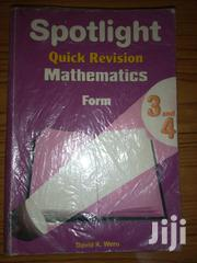 Spotlight Mathematics Form 3&4 | Books & Games for sale in Nairobi, Nairobi Central