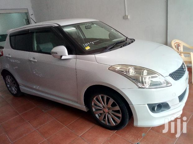 Archive: New Suzuki Swift 2012 White