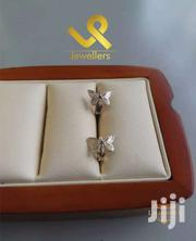 Butterfly And Flower Kids Genuine Silver Earrings | Jewelry for sale in Nairobi, Lower Savannah