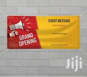 Full Color 1x1 Meter Banner Printing | Manufacturing Services for sale in Nairobi, Nairobi Central