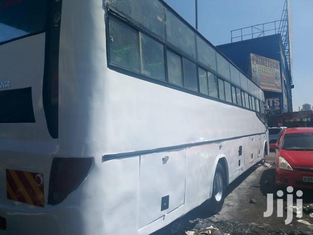 Archive: Scania 114F Bus White For Sale