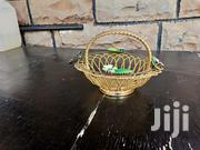 Metal Floral Basket In Gold | Home Accessories for sale in Nairobi, Nairobi South