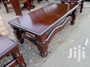 Mahogany Coffee Table With Two Stools   Furniture for sale in Nairobi, Ngara