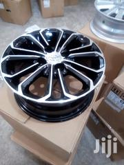 Toyota Vitz Alloy Rims Size 15 Black Color | Vehicle Parts & Accessories for sale in Nairobi, Nairobi Central
