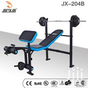 Professional Standard Bench With 100lbs Weight Sets: Model 204 | Sports Equipment for sale in Nairobi, Karen