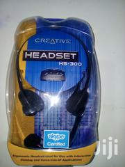 Creative HS-300 Headset With Microphone | Audio & Music Equipment for sale in Nairobi, Nairobi Central