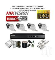 Hikvision CCTV Security Cameras - 4 Channel Kit- 1080p With 1 TB HDD | Cameras, Video Cameras & Accessories for sale in Nairobi, Nairobi Central