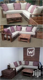 Pallet Corner Seats/Sectional Sofas/Pallet Furnitures/Pallet Sofas | Furniture for sale in Nairobi, Ziwani/Kariokor